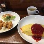 レストラン カマヘイ - オムライス 650円
