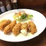 レストラン カマヘイ - カキフライ  650円