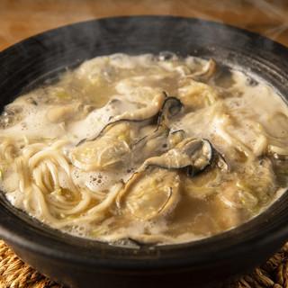 濃厚牡蠣鍋