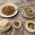 四川 MON 花 - 麻婆豆腐セット