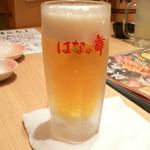 はなの舞 - キンキンジョッキの生ビール