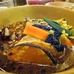 アツアツ - チキンやさいカレー オリジナルスープ