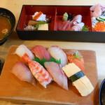 暫寿司 - 握り定食とちらしご膳