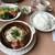 伽羅 - 料理写真:ハヤシハンバーグセット