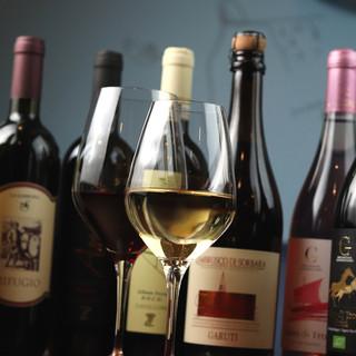 行きつけのお店で1杯♪高コスパ&美味しい◇イタリアンワイン◇