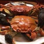 ささ舟 - 料理写真:今日一のモクズガニの茹で蟹