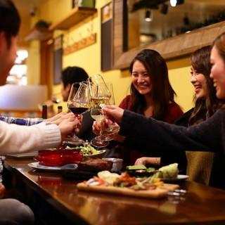 『忘れない思い出作り』種類豊富な飲み放題で宴会を盛り上げます