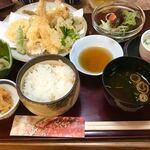 とと茶屋 - 料理写真:天ぷら定食