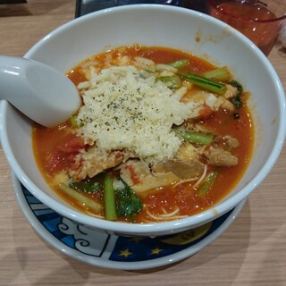 太陽のトマト麺withチーズ 原宿竹下通り店