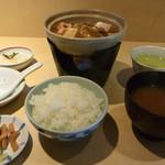 吉喜 - 料理写真:牡蠣みそ定食