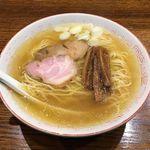 中華そば さとう - 料理写真:中華そば さとう(中華そば 650円)