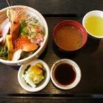 お食事処 錦屋 - 海鮮丼