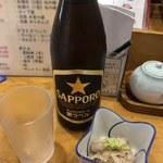 120589794 - 瓶ビール&お通し