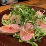 横浜すきずき - 合鴨と九条葱のサラダ