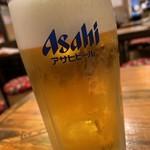 横浜すきずき - 生ビール