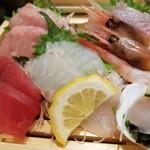 魚力食堂 - 刺身。