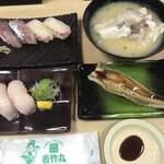 若竹丸 - 料理写真:ランチ これだけで足りるやろか?