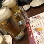 120599225 - 生ビールで乾杯