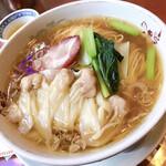 chuukasaikandouhatsu - 雲吞湯麺(特製わんたん麺)