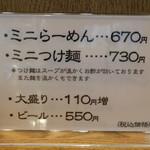 120605431 - ミニのおしながき