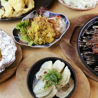 各種ご宴会に打ってつけ!淡路島料理を満喫頂けるコースメニュー