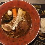 120615275 - 豚の角煮 SOUPCURRY煮干ラーメン900円