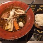 120615277 - 豚の角煮 SOUPCURRY煮干ラーメン900円