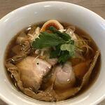 中華そば 和渦 TOKYO - 料理写真:特製醤油ラーメン1000円