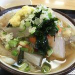 さか枝製麺所 - 料理写真:・しっぽくうどん[小]