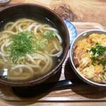 120618355 - かけうどん+ミニかつ丼