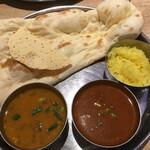 インド料理ムンバイ四谷店+The India Tea House - 豆、マトン(辛口)辛くなかった