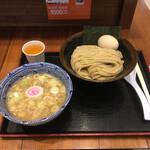 久臨 - つけ麺 小 味玉をトッピング