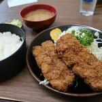 とんかつ 代々木庵 - 串カツ定食