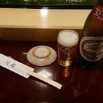 滝鮨 - ビールは麒麟ラガークラッシック