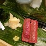 滝鮨 - 鮪赤身握り