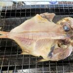 沼津 海女小屋 BBQ - 金目鯛干物
