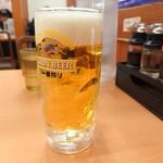 日高屋 - 2019年11月 生ビール
