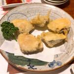 世界長 - 蛤の天ぷら