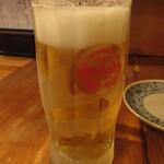 味処 だいこん - オリオン生ビール 500円 (019.10)