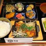 鉄板酒場 犇屋 - 肉と6種のおばんざい膳