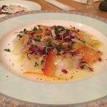 リストランテ ベニーノ - 真鯛のカルパッチョ!