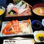 お食事処日本海 - 料理写真:松葉がに御膳
