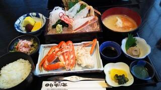 お食事処日本海 - 松葉がに御膳