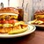 S.B.DINER TOKUSHIMA - 料理写真:エッグチーズバーガー&チーズバーガー