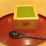 もみじ茶屋 - 抹茶ティラミス 715円 お値段アップしたようです。