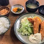 いち一 - 料理写真:「魚フライ定食」(700円)。