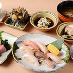 追っかけ鮨 地魚料理 松輪 - コース(6,600円)
