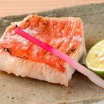 追っかけ鮨 地魚料理 松輪 - 金目鯛の塩焼き