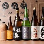 追っかけ鮨 地魚料理 松輪 - お酒各種