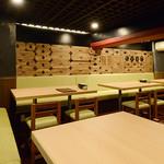 追っかけ鮨 地魚料理 松輪 - テーブル席_2